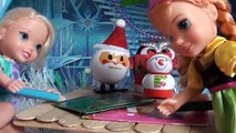 Anna and Elsa Toddlers Santa Photo Adventure Dolls New Sparkling Dresses Fun Frozen Christmas Toys