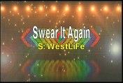 Westlife Swear It Again Karaoke Version