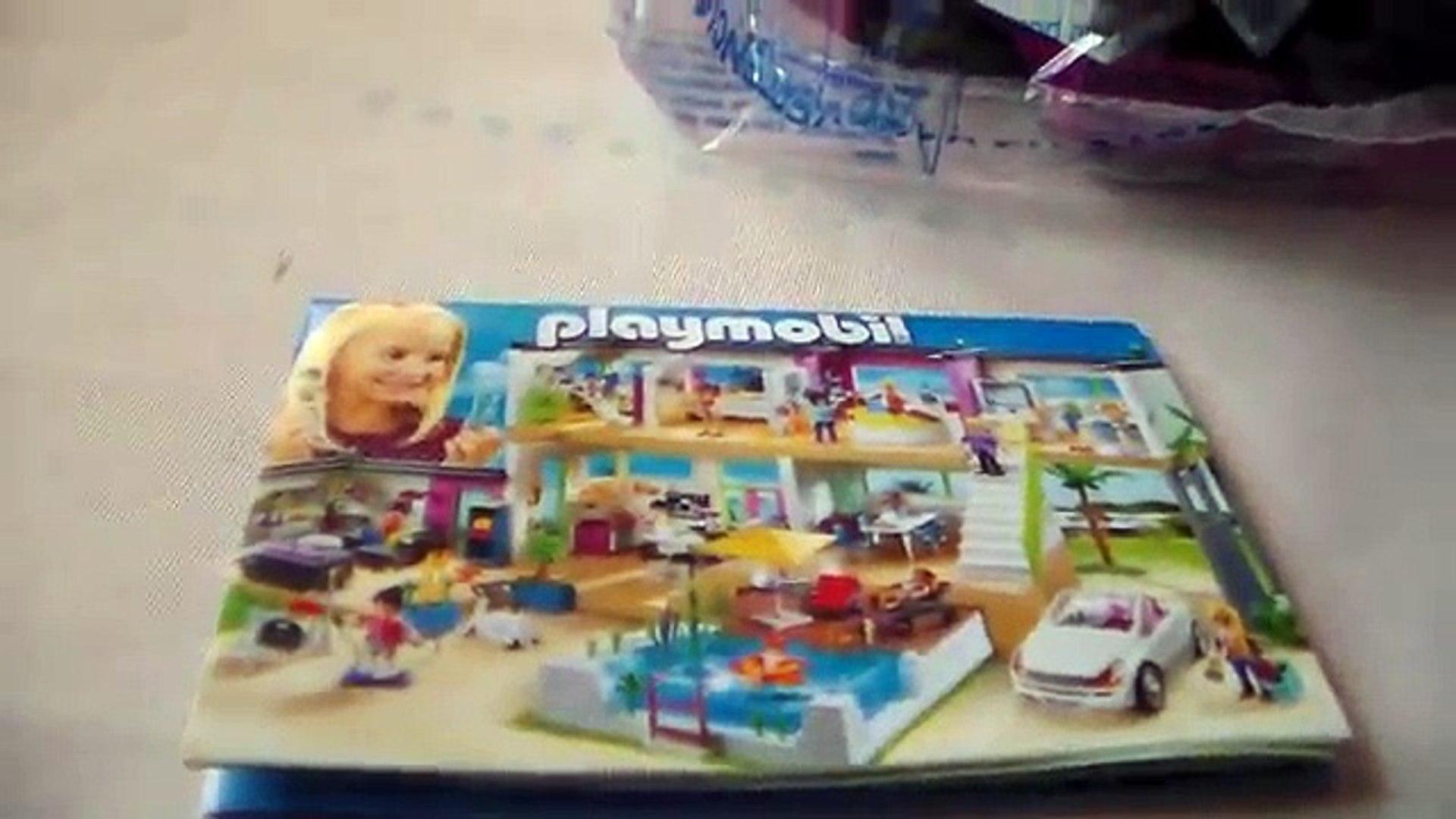 Playmobil Ouverture Des Boites Cuisine Avec Ilot 5582 Et Voiture