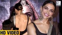 Deepika Padukone's Bacless Dress At Padmavat Trailer Launch