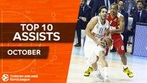 Turkish Airlines EuroLeague, Top 10 Assists, October!