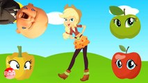 Wrong Eyes My Little Pony Equestria Girls - Applejack, Pinkie Pie, Fluttershy, Sunset Shimmer