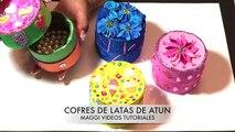 Cofres de latas de Atún
