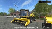 Farming Simulator 17 NEW HOLLAND SELF PROPELLED BALER