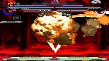 Orochi Leona, Orochi Kyo & Orochi Iori VS. Element, Element Kyo & Element XII