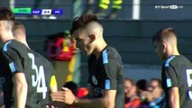 0-4 Benjamin Garre Goal UEFA Youth League  Group F - 01.11.2017 Napoli Youth 0-4 Man City Youth