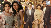 Samantha Akkineni & Naga Chaitanya's RECEPTION By Rana Daggubatti's Family