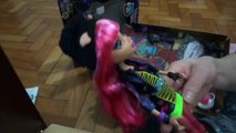 Monster High 13 Desejos - Howleen & Clawdeen Wolf unboxing