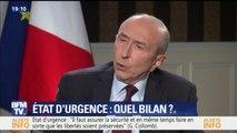 """""""Depuis"""" le début """"de l'état d'urgence, on a déjoué 32 attentats"""", dit Gérard Collomb"""