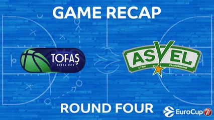 7Days EuroCup Highlights Regular Season, Round 4: Tofas 82-81 ASVEL