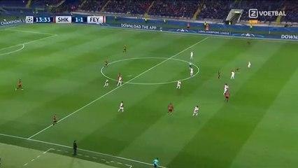Facundo Ferreyra Goal 1-1 Shakhtar Donetsk vs Feyenoord 01.11.2017