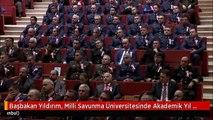 Başbakan Yıldırım, Milli Savunma Üniversitesinde Akademik Yıl Açılışına Katıldı 2