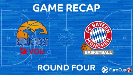 7Days EuroCup Highlights Regular Season, Round 4: Buducnost 60-76 Bayern Munich