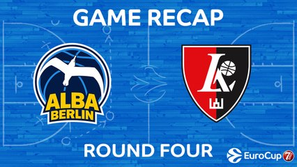 7Days EuroCup Highlights Regular Season, Round 4: ALBA 93-86 Rytas