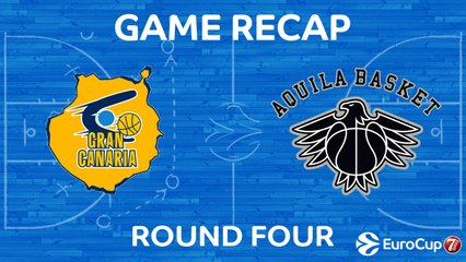 7Days EuroCup Highlights Regular Season, Round 4: Gran Canaria 85-76 Trento