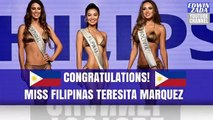 Miss FILIPINAS Teresita 'WINWYN' Marquez TOP 3 MISS SILUETA PHILIPS | REINA HISPANOAMERICANA 2017