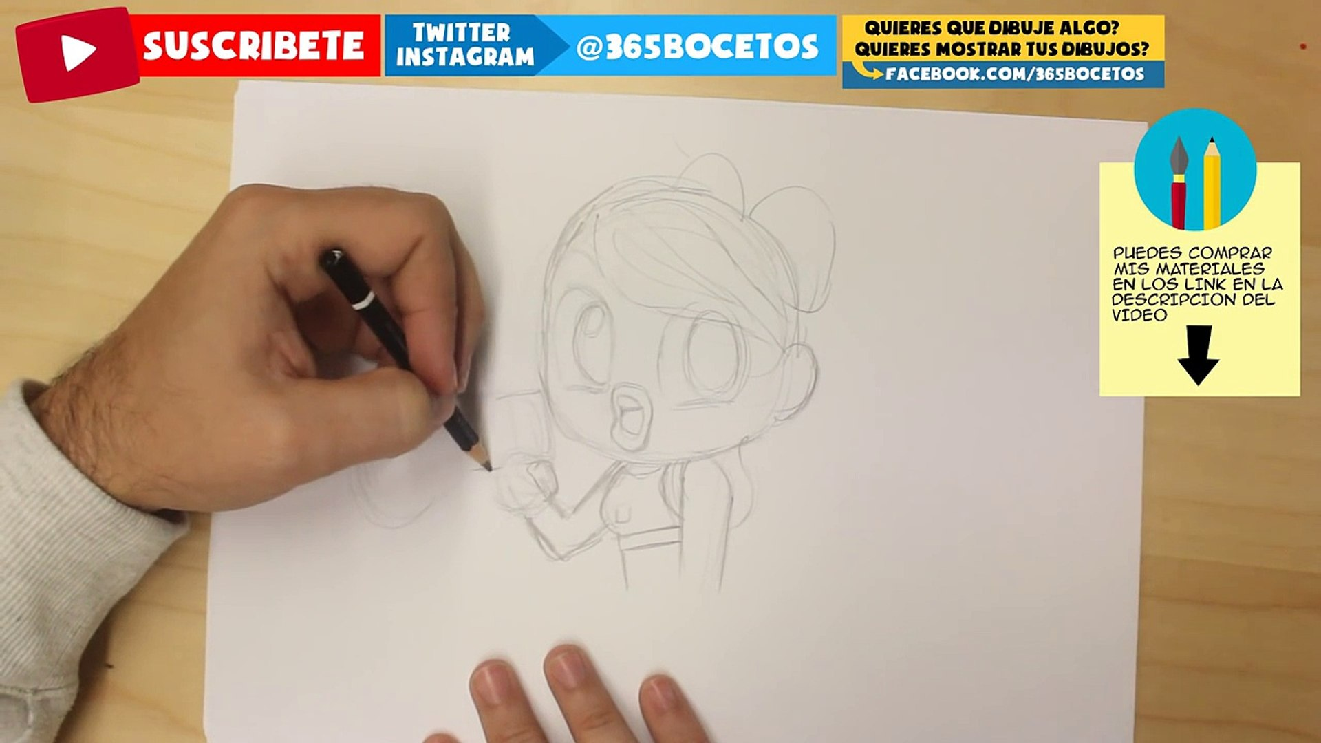 COMO DIBUJAR TAYLOR SWIFT KAWAII PASO A PASO - Dibujos kawaii - How to draw a Taylor Swift Chibi
