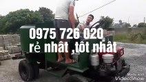 (Lạc Hồng ) máy trộn bê tông tuiwj hành ( máy trộn bê tông ) 6 bao xi măng 2 cầu di chuyển _ 6 CÁNH KHUẤY