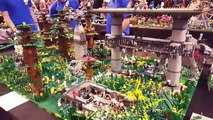 Lego Brick Live Show Amazing Lego Creations, Marvel, DC, Star Wars, Batman and Giant Lego Structures