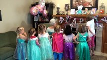Queen Elsa comes to Lotties Birthday Party! (The Fleglets)
