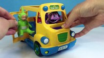 NUMBERS and COUNTING Seseme Street SCHOOL BUS with TELETUBBIES Toys!-55DwiHslN60