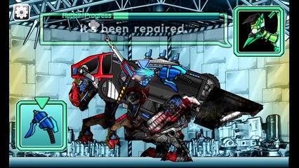 Repair! Dino Robot #4: Megalosaurus (4 Color Modes) | Eftsei Gaming