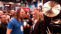 Chad Smith (Red Hot Chili Peppers) Meets Nicko McBrain of Iron Maiden