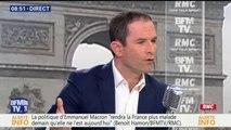 """""""Le plus grand reniement d'Emmanuel Macron tient sur les libertés publiques"""", juge Benoît Hamon"""