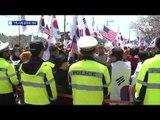 봉하마을서 태극기 집회…경찰과 충돌도?