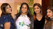 Shilpa Shetty, Arpita Khan, Shamita Shetty & Stars At Manish Malhotra Party