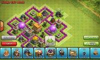 Clash of Clans Town Hall 6 Defense (COC TH6) Hybrid Base Layout Defense Strategi