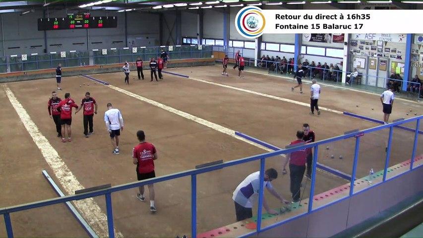 Quatrième tour, Club Elite Masculin J2, Fontaine contre Balaruc-les-Bains, novembre 2017