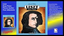 Partitions - Liszt easy piano - Pour débutants