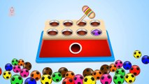 Learn Colors with Color Lipstick - Learn Colours to Kids Children Toddlers Learning Videos