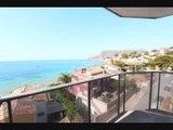 Appartement à vendre sur la ville de Calpe surplombant la mer près de la plage Une nouvelle construction de Prestige