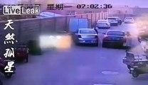 Driver slowly kills an old man