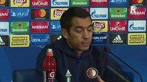Giovanni van Bronckhorst een avond voor Shakhtar - Feyenoord