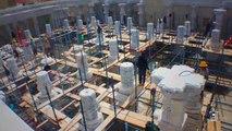 Construction d'un énorme temple Hindou.. aux Etats-Unis !