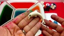 Dye Coloring Play Doh Sea Creatures Dolphin,Seastar Molds/Kids Creative Color Fun/Crayola Play Doh