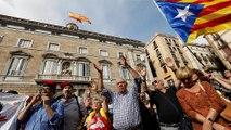 Barcelonai tüntetés