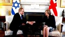 Israeli PM Netanyahu visits UK to mark Balfour centenary