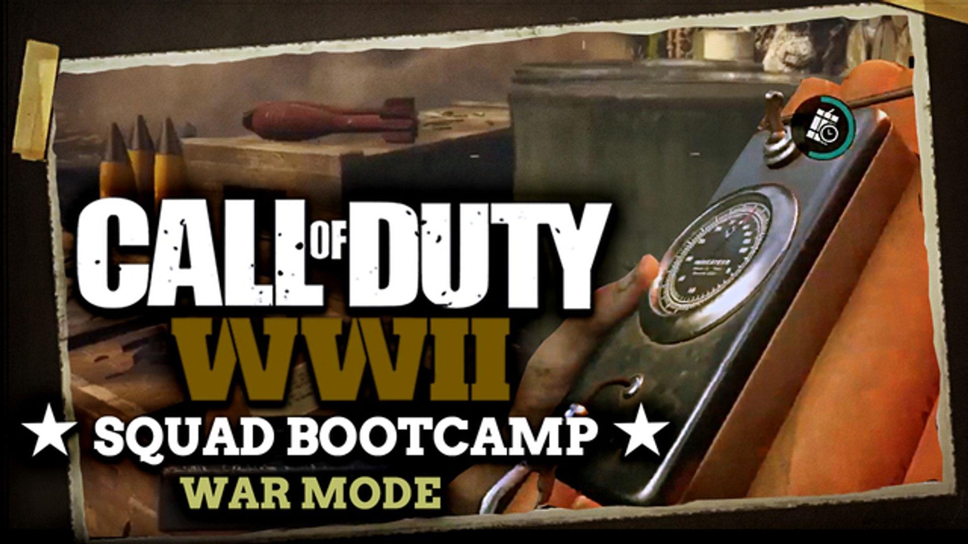Call of Duty WW2 War Mode: Tips & Tricks - CoD Squad Bootcamp