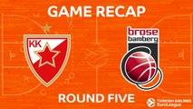 Highlights: Crvena Zvezda mts Belgrade - Brose Bamberg
