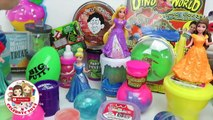 40 SLIME types! Glitter PUTTY Magiclip Princess! Thinking Putty Fun Dresses & Silly Putty Time