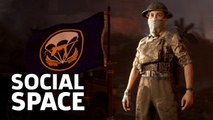 Touring Call Of Duty WW2's Headquarters Social Space Gameplay