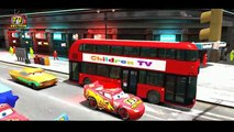 Hulk and Spiderman Red Bus | Wheels On The Bus Go Round And Round | Songs Nursery Rhymes for Kids