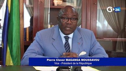 Déclaration du Vice-Président de la République du Gabon.