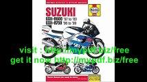 Suzuki GSX-R600 '97 to '00 - GSX-R750 '96 to '99 (Haynes Repair Manuals)