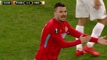 FC SB vs. HapoeI - Obvious hand-baII on the goaI Iine.