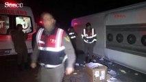 Bursa'da otobüs kazası! Ölü ve yaralılar var